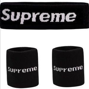 SUPREME Sweatband Headband 2 wrist new
